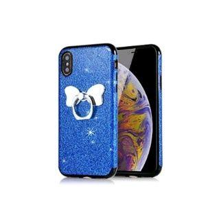 Accessories - iPhone XR Glitter Blue case